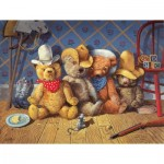 Puzzle  Sunsout-36074 XXL Teile - The Wild Bunch