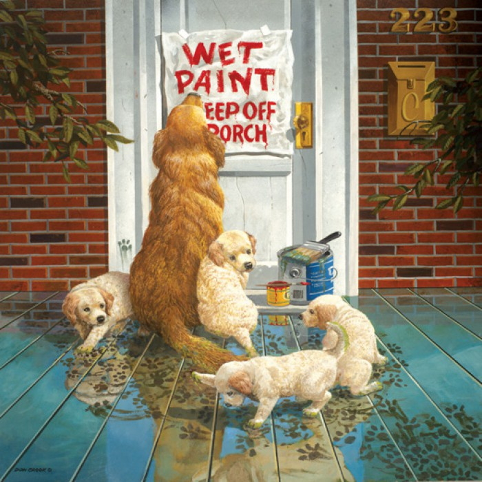 Don Crook - Wet Paint