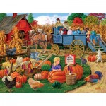 Puzzle  Sunsout-38804 XXL Teile - Come On, Boy Hayride