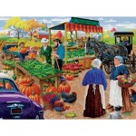 Puzzle  Sunsout-38830 XXL Teile - Mr. P's Farm Market