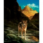Puzzle  Sunsout-43031 Julie Bell - Lone Wolf