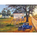 Puzzle  Sunsout-44357 XXL Teile - The Sign Painter