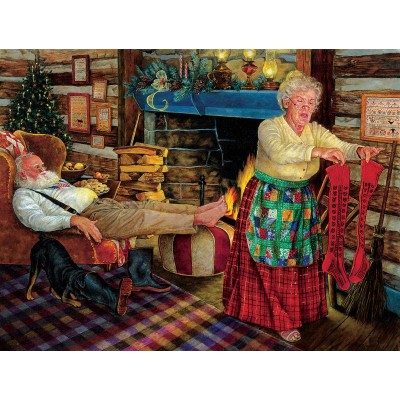 Puzzle Sunsout-44629 XXL Teile - The Warm Scent of Home