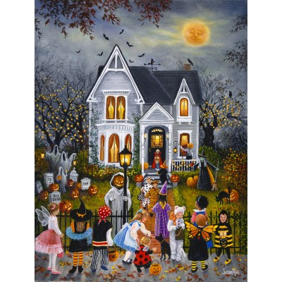 Puzzle Sunsout-45436 XXL Teile - Susan Rios - Scary Night