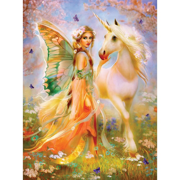 Bente Schlick - Fairy Princess and Unicorn