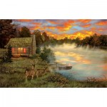 Puzzle  Sunsout-50121 Couples Retreat