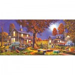 Puzzle  Sunsout-51320 Geno Peoples - Maple Spring Retreat