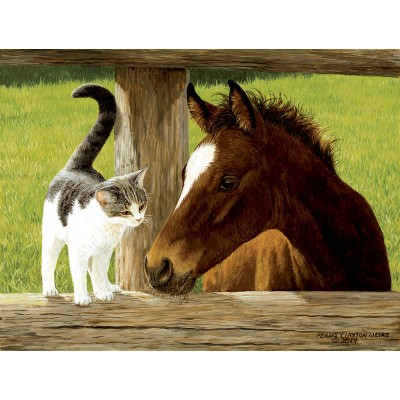 Puzzle Sunsout-51528 XXL Teile - Whiskery Hello