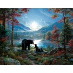 Puzzle  Sunsout-52966 XXL Teile - Mark Keathley - Bedtime Kisses