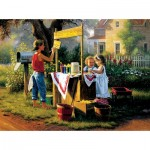 Puzzle  Sunsout-53013 Mark Keathley - Open for Business