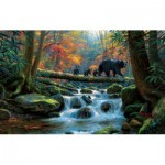 Puzzle  Sunsout-53064 Mark Keathley - Precarious Crossing