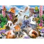 Puzzle  Sunsout-54928 XXL Teile - Howard Robinson - Backyard Friends