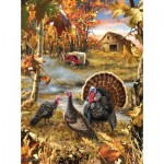 Puzzle  Sunsout-57168 Dona Gelsinger - Turkey Ranch
