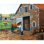 Puzzle  Sunsout-60319 Don Engler - Coppery and Stables