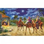 Puzzle  Sunsout-60602 Marcello Corti - Journey of the Magi