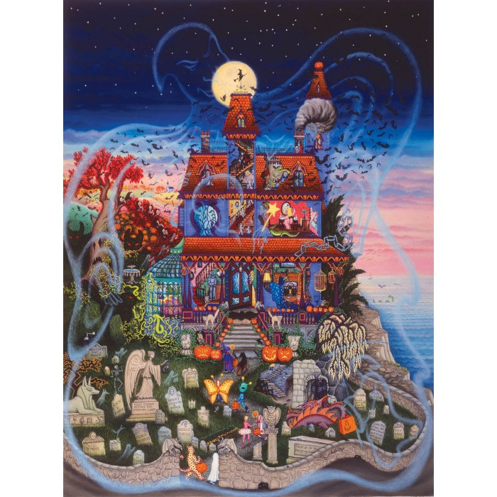Kathy Jakobsen -  The Ghost and the Haunted House