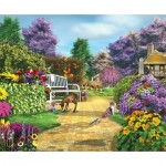 Puzzle  Sunsout-61575 Caplyn Dor - Peaceful Moment