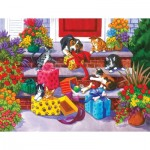 Puzzle  Sunsout-62913 XXL Teile - Time for Toys and Treats