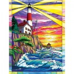 Puzzle  Sunsout-62914 XXL Teile - Dolphin Bay Lighthouse