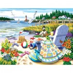 Puzzle  Sunsout-63061 XXL Teile - Essence of Summer