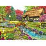 Puzzle  Sunsout-66584 XXL Teile - Welcome Home