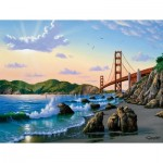 Puzzle  Sunsout-66904 XXL Teile - Bridge View