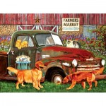 Puzzle  Sunsout-67282 Julie Bauknecht - Woody Acres