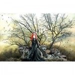 Puzzle  Sunsout-67609 Nene Thomas - Red Haired Witch