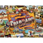 Puzzle  Sunsout-70034 Ward Thacker Studio - Mile High Colorado