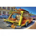 Puzzle  Sunsout-72806 XXL Teile - Woody Wagon