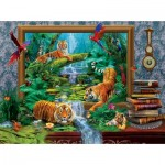 Puzzle  Sunsout-74510 Jan Patrik Krasny - Out of the Jungle