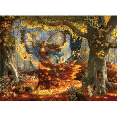 Puzzle Sunsout-76322 Ruth Sanderson - Woodland Fairy