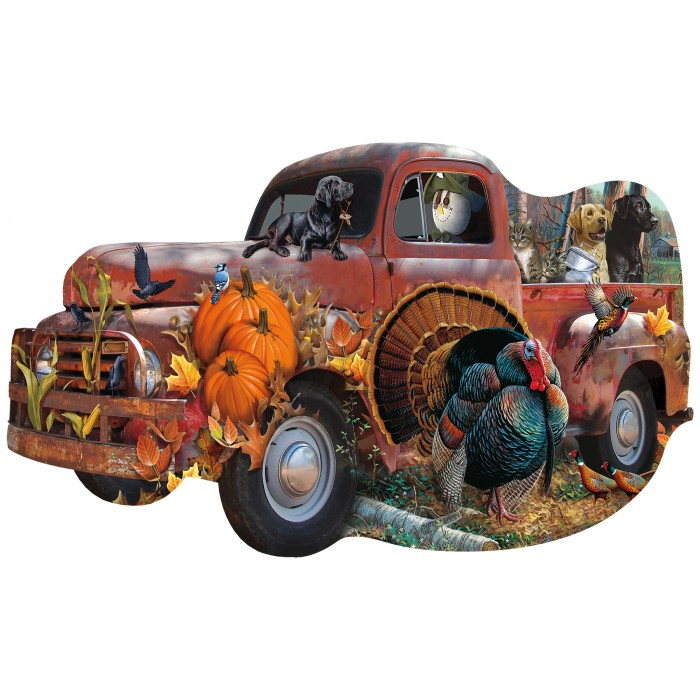 Jerry Gadamus & Cynthia Fisher - Harvest Truck