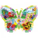 Puzzle  Sunsout-96152 Nancy Wernersbach - Butterfly Summer