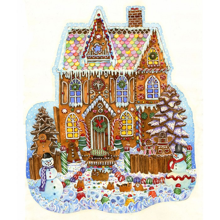 Wendy Edelson - Gingerbread House