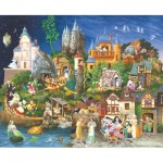 Puzzle  Sunsout-CN67546 James Christensen - Fairy Tales