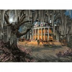 Puzzle  Sunsout-WS51002 Roberta Wesley - Moonlight & Lace