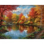 Puzzle   XXL Teile - Abraham Hunter - Autumn Tranquility