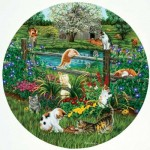 Puzzle   XXL Teile - Cats at Play