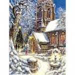 Puzzle   XXL Teile - Church in the Snow
