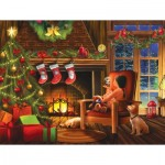 Puzzle   XXL Teile - Dreaming of Christmas