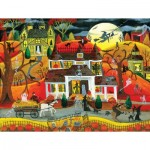 Puzzle   XXL Teile - Halloween Fright Night