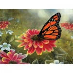 Puzzle   XXL Teile - Monarch Butterfly