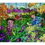 Puzzle   XXL Teile - Orchid Society