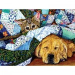 Puzzle   XXL Teile - Quilted Comfort