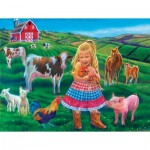 Puzzle   XXL Teile - Tricia Reilly-Matthews - Fun on the Farm
