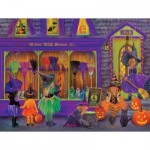 Puzzle   XXL Teile - Tricia Reilly-Matthews - Witch Broom Shop