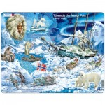 Larsen-NB7-GB Rahmenpuzzle - Towards the North Pole (auf Englisch)