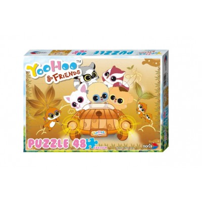 Puzzle Noris-606031129 Yoohoo & Friends