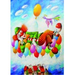 Puzzle  Gold-Puzzle-60577 Clownsträume